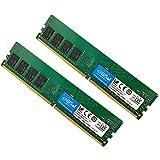 Crucial デスクトップメモリ PC4-21300(DDR4-2666) 16GB(8GBx2枚) UDIMM CT8G4DFS8266【永久保証】[並行輸入品]