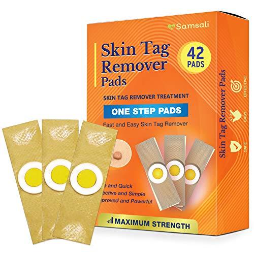 Samsali Advanced Skin Tag Remover Pads, 42 Quality Skin Tag Remover Pads, Best Skin Tag Remover Pads