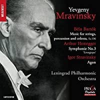 Bartok/Honegger/Stravinsky: Mu