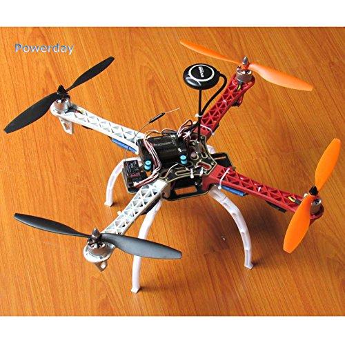 powerday Kit de Quadcopter DIY F450 + APM2.8 FC+ 7M GPS y GPS soporte+motor sin escobillas T2212 920KV + Simonk 30A ESC+tren de aterrizaje+ 1045hélice + paquete de piezas de repuesto