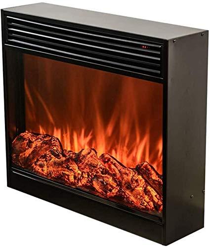 FTFTO Living Equipment Chimenea de calefacción Decorativa empotrada: Pared de Llamas de simulación de casa con termostato Remoto, Chimenea eléctrica o Estufa de calefacción empotrada