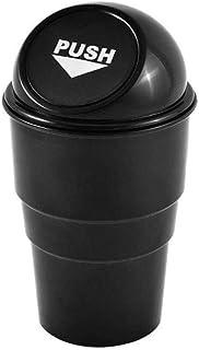 Cestino bidone spazzatura,Borsa Mini immondizia pattumiera rifiuti Automotive Storage,Contenitore per rifiuti Interni auto//Ufficio//Casa grigio JUNSHUO Auto Automatico Cestino,Cestino plastica