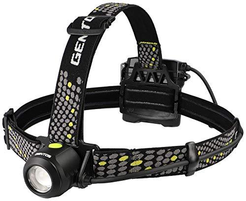 GENTOS(ジェントス) LED ヘッドライト USB充電式 【明るさ800ルーメン/実用点灯4時間/後部認識灯】 専用充電池または単3形電池4本使用 メタルマスター MM-285H ANSI規格準拠