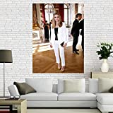 XWKCHCL Olivia Palermo Leinwand Poster Wohnzimmer