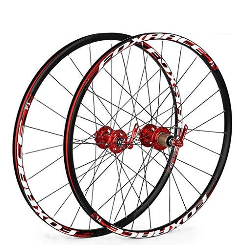 Juego de ruedas MTB 26 para bicicleta de montaña Delantero y trasero...