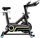 ANCHEER Bicicleta de Spinning Bici estática Indoor de Volante Magnetrón Bicicletas de Ejercicio App Conexión /Sillin Ajustable/ Pantalla LCD para Ejercicio en Casa (Negro volante magnetrón)