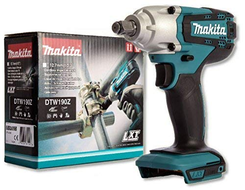 Makita DTW190 LXT Impact Wrench, 18V, M8-M16