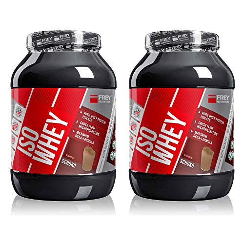 Frey Nutrition Iso Whey 2 x 750g Dose 2er Pack Schoko