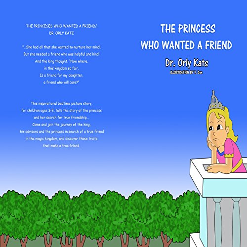 The Princess Who Wanted a Friend audiobook cover art