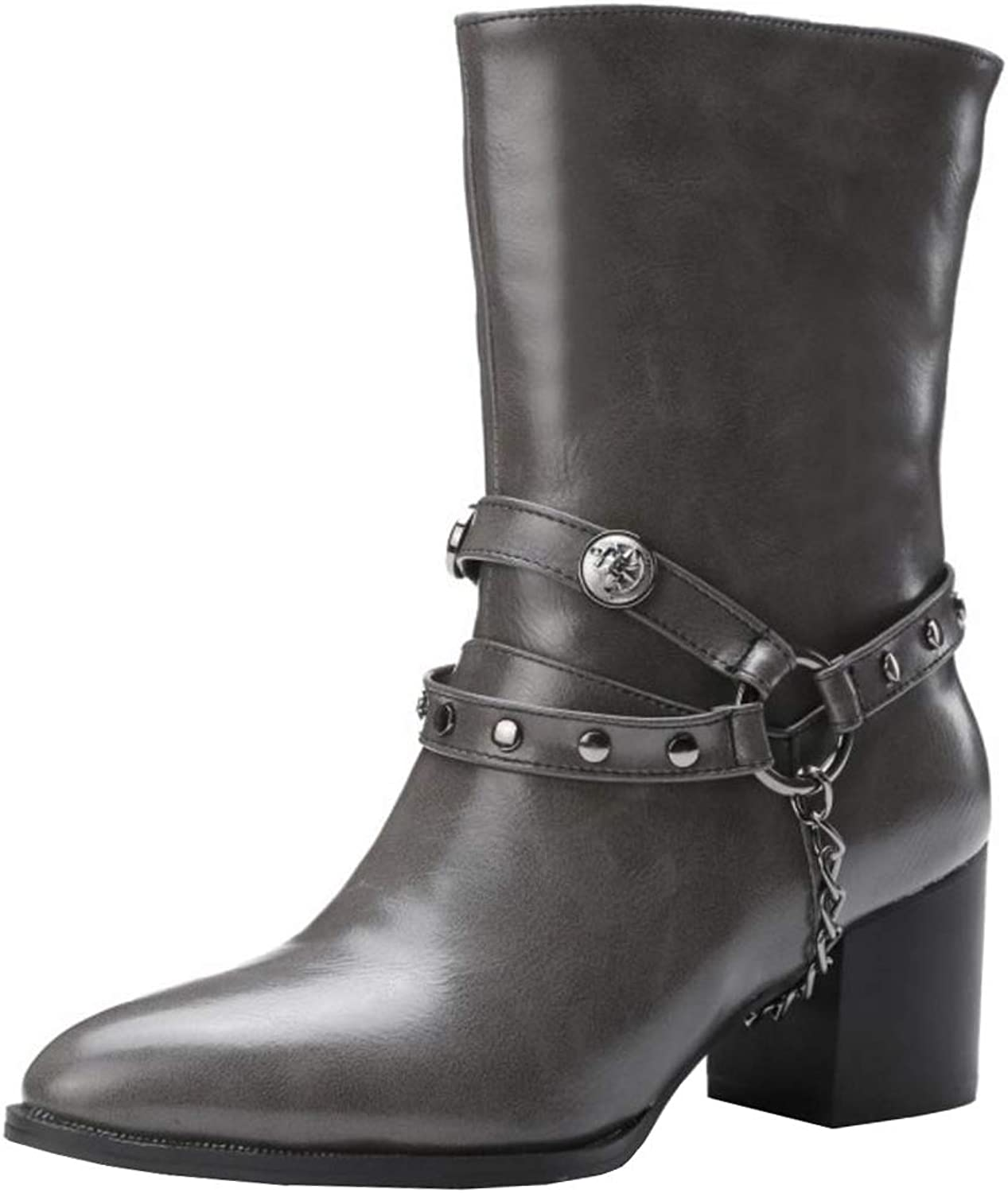 Melady Fashion Harness Boots Pull On