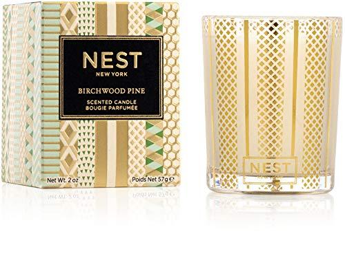 NEST Fragrances Votive Candle- Birchwood Pine , 2 oz