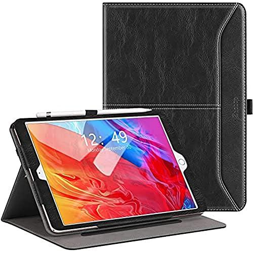ZtotopHülle Hülle für Neu iPad 10,2 (8. Generation/7. Generation), Premium Leder Geschäftshülle mit Ständer,Kartensteckplatz, Auto Schlaf/Aufwach Funktion für iPad 10,2