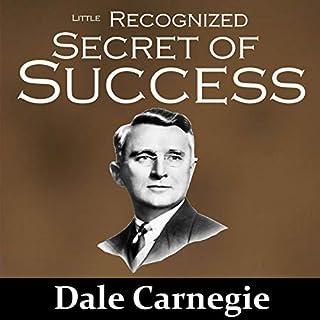 The Little Recognized Secret of Success audiobook cover art