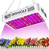 OOWOLF 1200W LED Horticole Lampe LED pour Plantes Lampe de Croissance avec Minuterie...