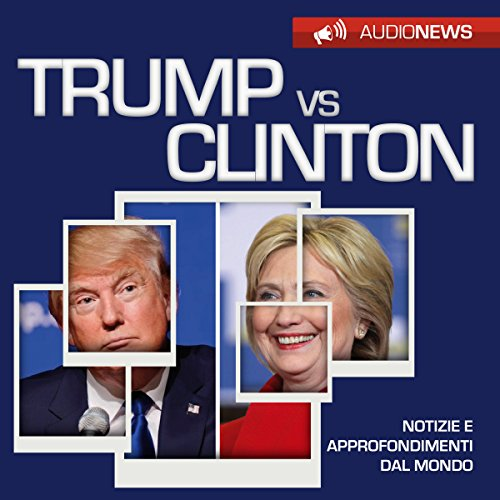 Trump vs Clinton audiobook cover art
