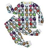 SHIR Among Us Pijamas Ropa Niños Ropa Dormir Tops Bottoms Conjuntos Pantalones...