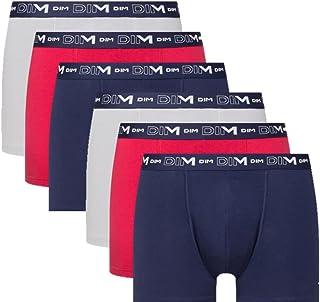 Dim Boxer Homme Coton stretch x6