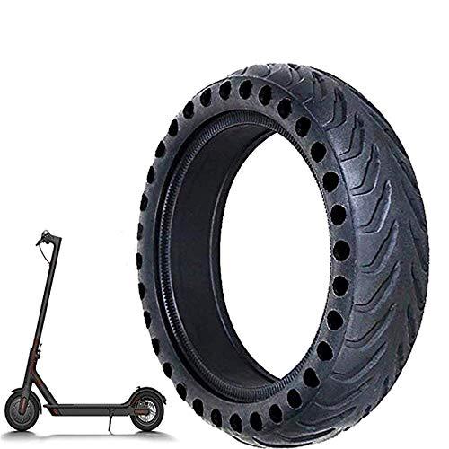EMEBAY Rueda de repuesto de 8,5 pulgadas de células sólido 8 1 / 2X2 Para delantero/trasero de neumáticos Xiaomi Mijia M365 scooter eléctrico skate Buena amortiguación Bajo nivel de ruido