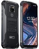DOOGEE S68 Pro Telephone Portable Incassable Debloqué, Helio P70 Octa Core 6 Go + 128 Go, 4G Android 9.0 Smartphone Antichoc IP68, 6300mAh 5,9 inch FHD+, Caméra 21MP+16MP, NFC Charge sans Fil, Nero