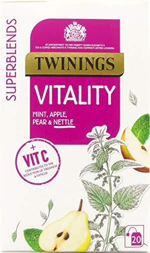 Twinings SuperBlends Vitality, Herbal Tea Bags
