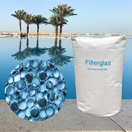 MEINPOOL24.DE Filterglas für Sandfilteranlagen 0,4-0,8 mm