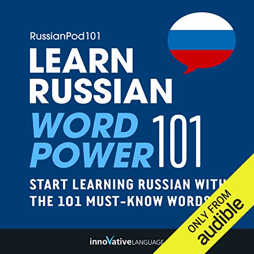Learn Russian - Word Power 101 audiobook cover art