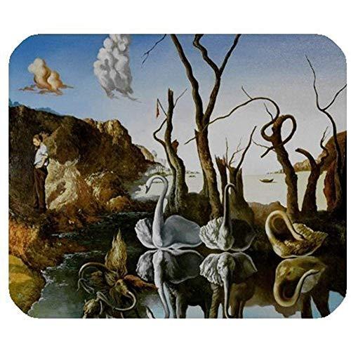 Grappige muis pads Salvador Dali Art Works,Wereld Beroemde schilderijen muismat