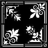Creative Expressions - Estarcido para fabricación de Papel, diseño clásico, Color Beige