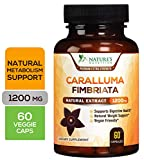 Caralluma Fimbriata Extract High Potency 1200mg - Natural Support for Metabolism & Endurance, Made in USA, Best Vegan...