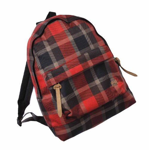 Quicksilver Candy X6 Sac Enfant Rouge Quick Red/écossais