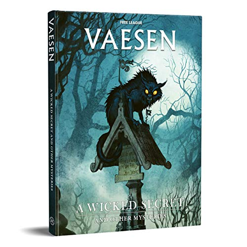 Free League Publishing Vaesen Nordic Horror: A Wicked Secret and Other Mysteries (Book), Multicolor