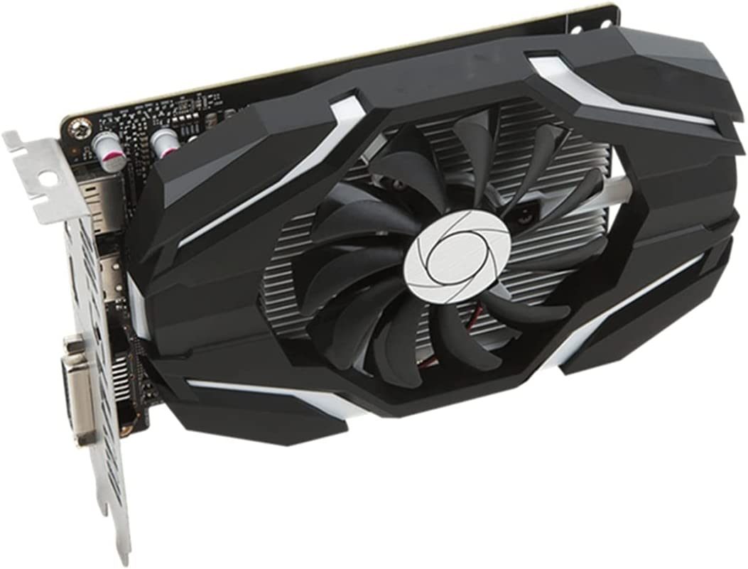 SYFANG Fit for MSI Geforce GTX 1050 Ti 4Gt OC 4GB 128 bit Gddr5 DX (12) Tarjeta gráfica PCI-E 3.0 (GTX 1050 Ti 4Gt OC) Tarjetas gráficas