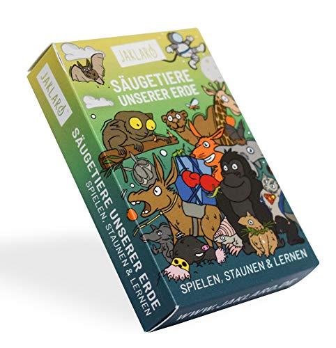 JAKLARO! Säugetiere unserer Erde, das schlaue Kartenspiel für die ganze Familie und alle Biologie-Fans!