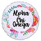 Sorority Shop Alpha Chi Omega - Fringe Towel - Blanket