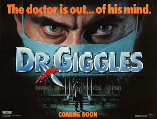 Pop Culture Graphics Dr. Giggles Poster Movie B 11x17 Larry Drake Holly Marie Combs Glenn Quinn Keith Diamond