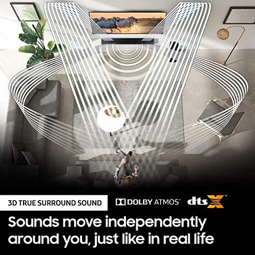 SAMSUNGDeco Gear Samsung HW-Q900T 7.1.2ch Soundbar w/Dolby Atmos/DTS:X and Alexa (2020) Renewed