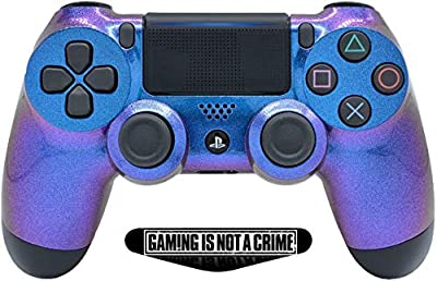 PS4 PRO Enigma Rapid Fire Custom Modded Controller 40 Mods for All Major Shooter Games, Custom LED (CUH-ZCT2U)