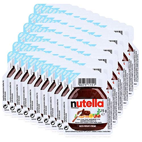 Nutella Einzelportionen - 60 x 15g Portion