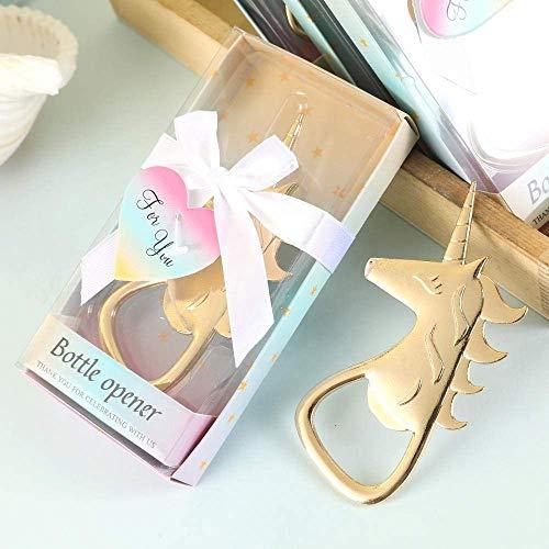 Cutie Einhorn Flaschenöffner in Geschenkbox, ideal für Hochzeit, Geburtstag oder als Geschenk