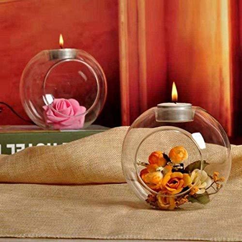 Candlestick holdersCandle Holder Vase Romantic Wedding Dinner Decoration Crystal Glass Hanging Candle Holdercandle holders