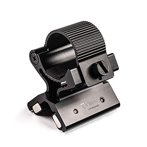 TrustFire GM03 - Soporte magnético para antorcha con imán para linternas LED, apto para luces con 23 – 26 mm de diámetro
