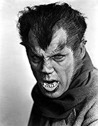 Henry Hull in makeup as The Werewolf of London