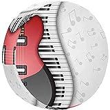 Teclas de Piano y Guitarra eléctrica, Fondo Musical Ajuste Universal para je-EP, Trailer, RV, SUV, Cubierta de llanta de refacción para camión