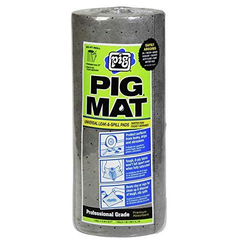 New Pig 25201 15 in. x 50 ft. Universal Light-Weight Absorbent PIG Mat Roll
