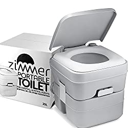 top rated Camp Porta Toilet Portable Toilet – 5 Gallon Waste Tank – Durable, Leakless, Easy to Wash… 2021