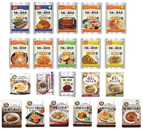 非常食セット 美味しい防災食 保存食 21食セット 5年 アルファフーズ ×TRAUM
