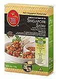 Singapur Satay kit listo para cocinar la salsa para Singapur Kebab 275 g / 9.7 oz...