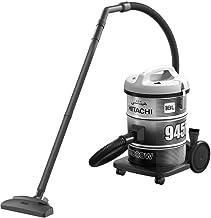Hitachi Vacuum Cleaner 2000 Watts, 18 Liters, Platinum Grey - CV-945F SS220 PG
