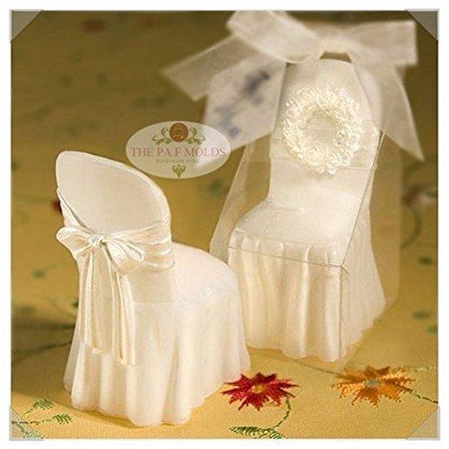 3D Wedding Romantic Dress Chair mold 55 ,fondant cake molds chocolate soap candle molds