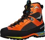 SCARPA Charmoz Mountaineering Boot - Men's Shark/Orange, 40.5
